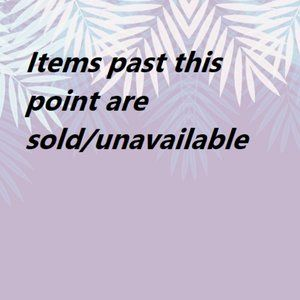 EVERYTHING PAST THIS POINT IS UNAVAILABLE